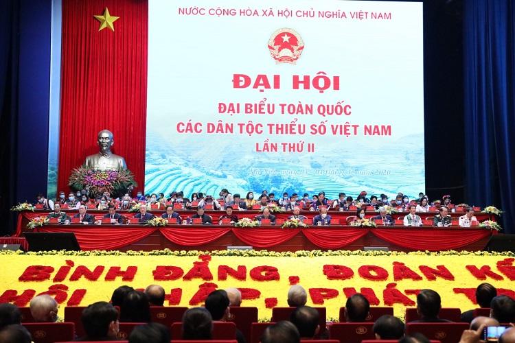 Khai mạc Đại hội đại biểu toàn quốc các dân tộc thiểu số Việt Nam lần thứ II năm 2020