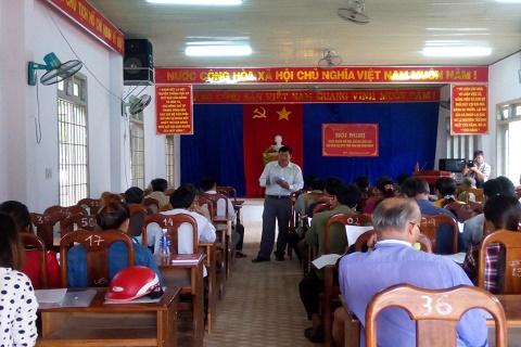 Hội nghị tuyên truyền, phổ biến pháp luật tại xã Bờ Y, huyện Ngọc Hồi